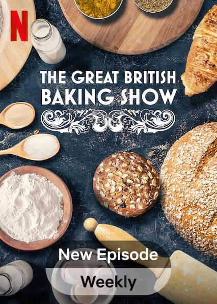 The Great British Baking Show on Netflix USA